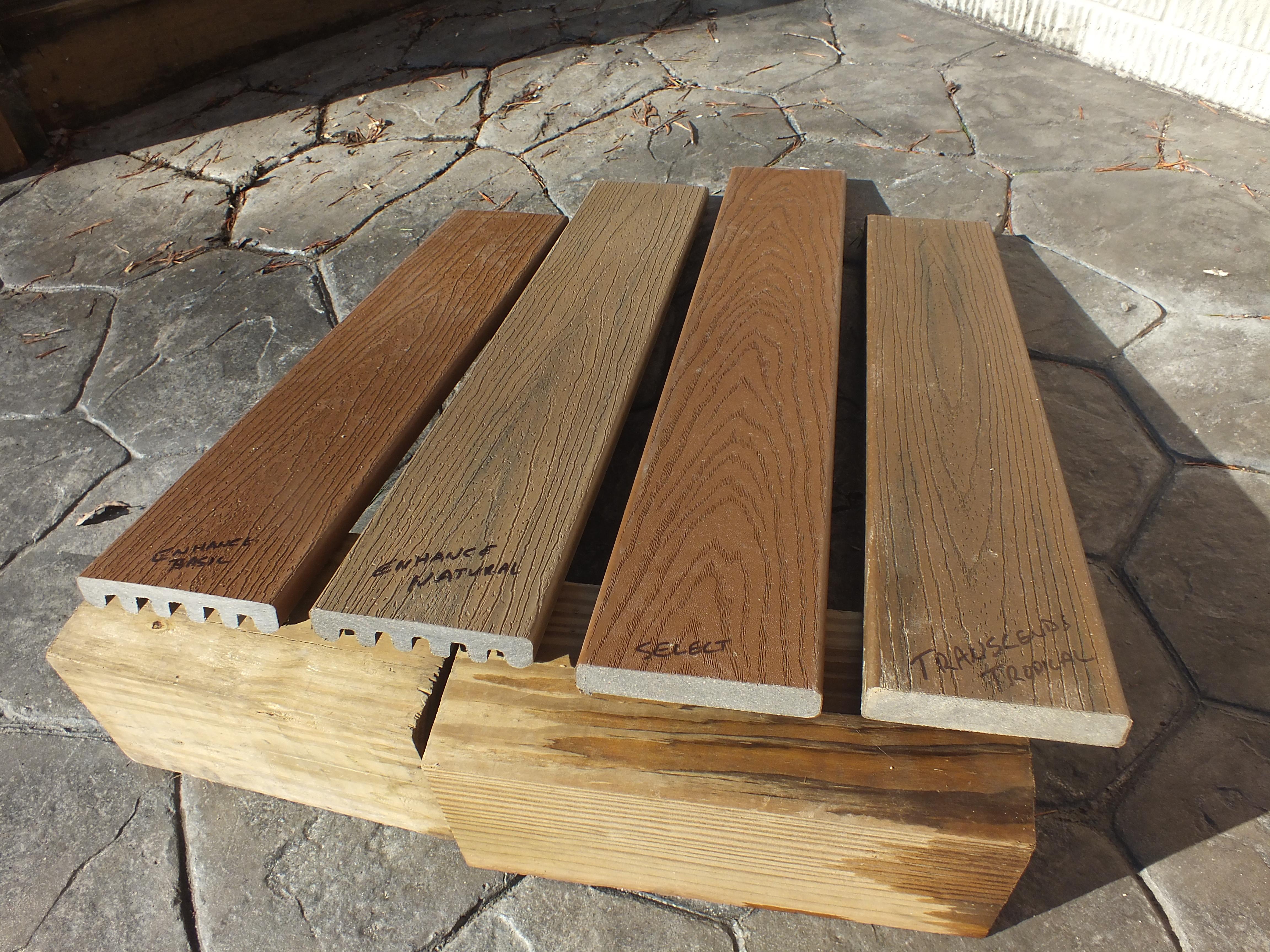 Compare Trex Flooring Dan S Decks